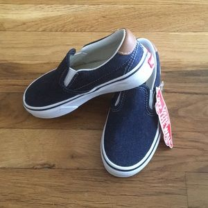 Slip on 59 denim size 11 kids vans